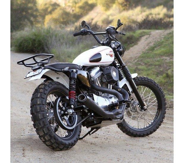 Мастерская Burly Brand представила скрэмблер на основе Harley-Davidson Sportster. Изображение № 15.