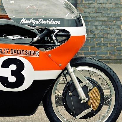 Мастерская британского дилера Warr's отреставрировала гоночный Harley-Davidson XRTT-750 . Изображение № 5.