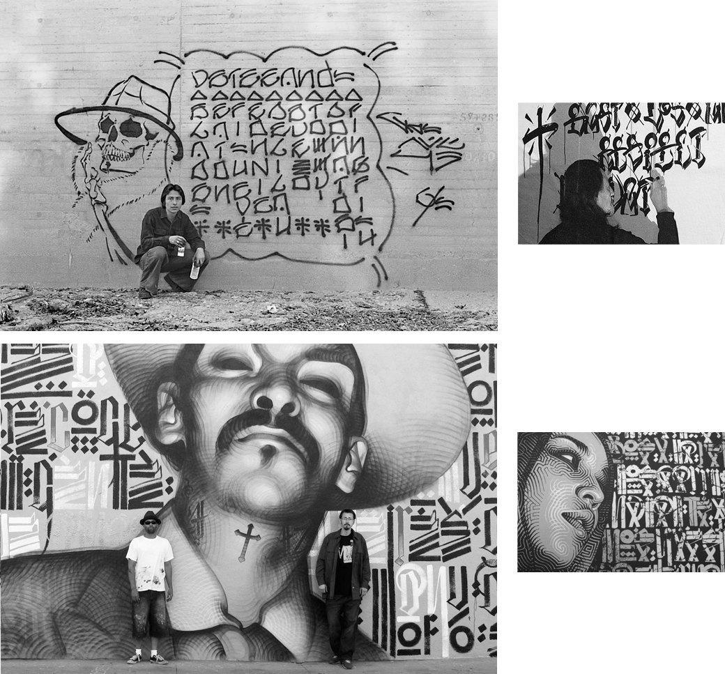 Cholo writing: Гид по граффити латинских банд Лос-Анджелеса. Изображение № 11.