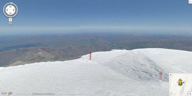 При помощи Google Street View теперь можно побывать на Килиманджаро, Эвересте и других вершинах. Изображение № 8.