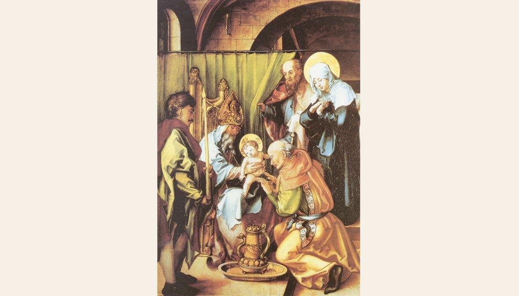 Альбрехт Дюрер - Обрезание Христа. Изображение № 9.