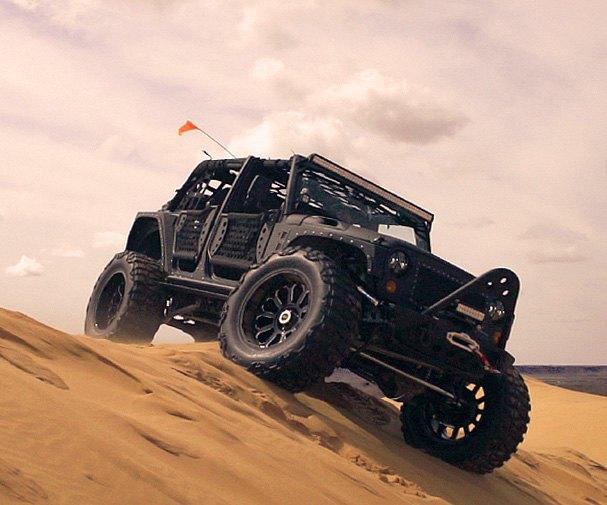 Автомастерская Starwood Motors представила новый кастом на базе Jeep Wrangler. Изображение № 10.