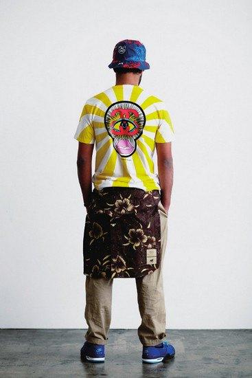 Марка Stussy опубликовала лукбук весенней коллекции одежды. Изображение № 10.
