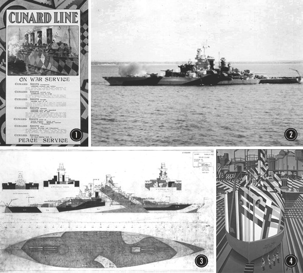 История камуфляжа Dazzle —от картин кубистов до военных крейсеров и принтов на одежде. Изображение № 3.
