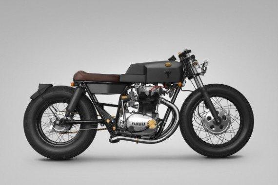 Мотомастерская Thrive Motorcycle представила каферейсер на базе Yamaha XS650 . Изображение № 1.