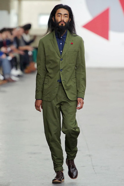 Марка Oliver Spencer выпустила летнюю коллекцию одежды. Изображение № 14.