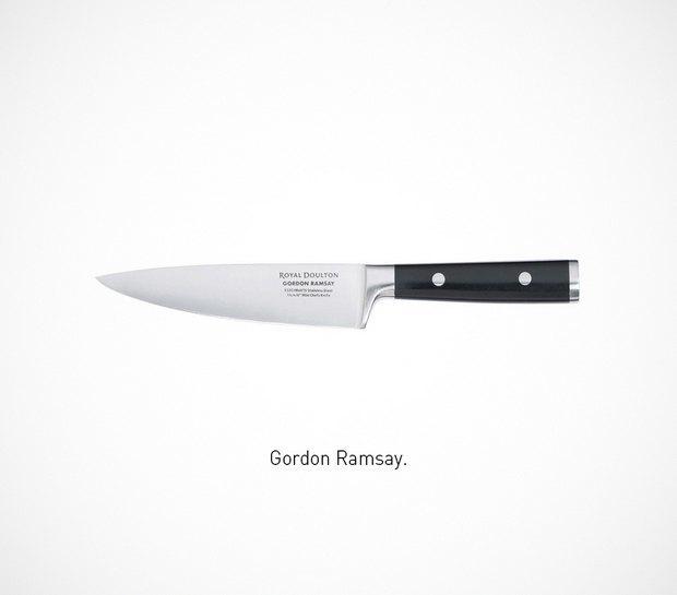 Итальянский дизайнер представил коллекцию ножей знаменитых персонажей. Изображение № 44.