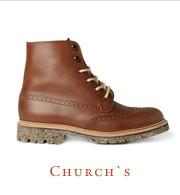 Хайкеры, высокие броги и другие зимние ботинки в интернет-магазинах. Изображение № 20.