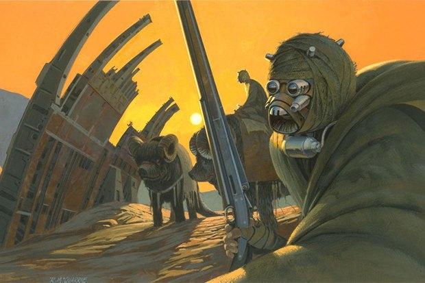 В сети появился оригинальный концепт-арт «Звёздных войн». Изображение № 2.