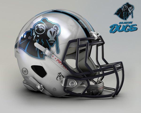 Мексиканец создал коллекцию футбольных шлемов, посвящённую «Звёздным войнам». Изображение № 13.