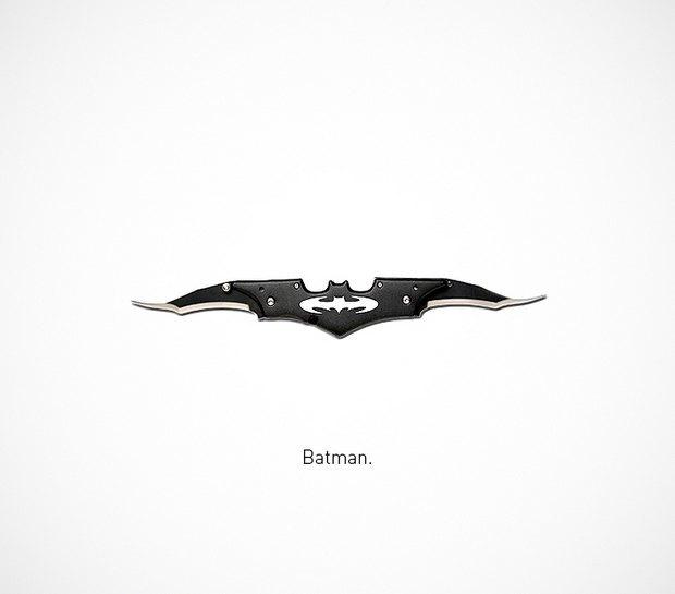 Итальянский дизайнер представил коллекцию ножей знаменитых персонажей. Изображение № 11.