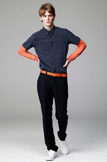 Японская марка Attachment выпустила лукбук весенней коллекции одежды. Изображение № 1.