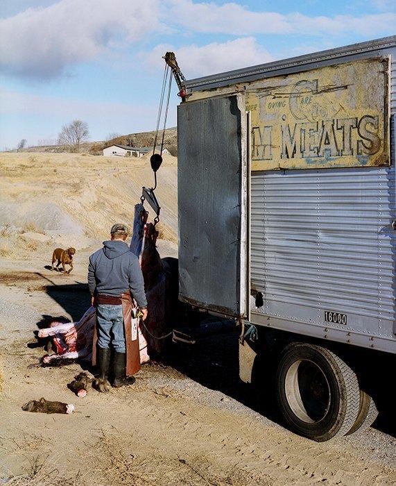 Бытовая жизнь работников бизоньего ранчо в США . Изображение № 10.