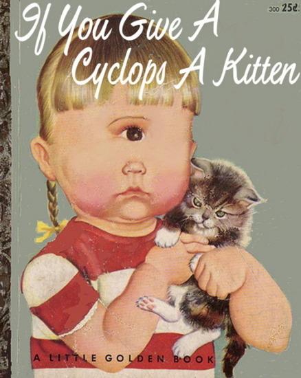 Иллюстратор Боб Стэйк создал пародии на обложки старых детских книжек   . Изображение № 15.