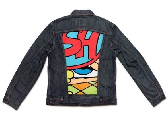 Изображение 7. Вышла коллекция джинсовых курток Levis x MoCA.. Изображение № 8.