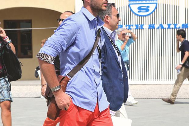 Детали: Репортаж с выставки мужской одежды Pitti Uomo. День второй. Изображение № 14.