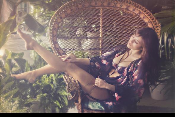 Актриса Милен Жампаной снялась в рекламе нижнего белья Agent Provocateur. Изображение № 1.