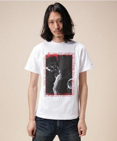Марки Stussy и Schott выпустили совместную коллекцию футболок. Изображение № 1.