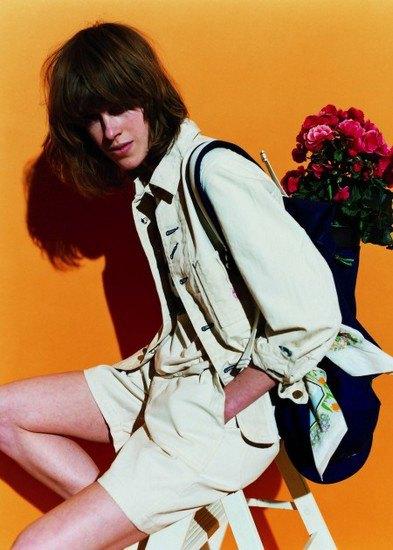 Японская марка Beams опубликовала лукбук весенней коллекции одежды. Изображение № 15.