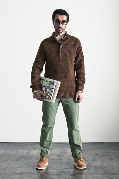 Марка Stussy выпустила осенний лукбук. Изображение № 9.