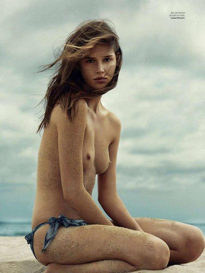 Ханна Химич сфотографировала Анаис Пульо для нового номера журнала L'officiel Paris. Изображение № 4.