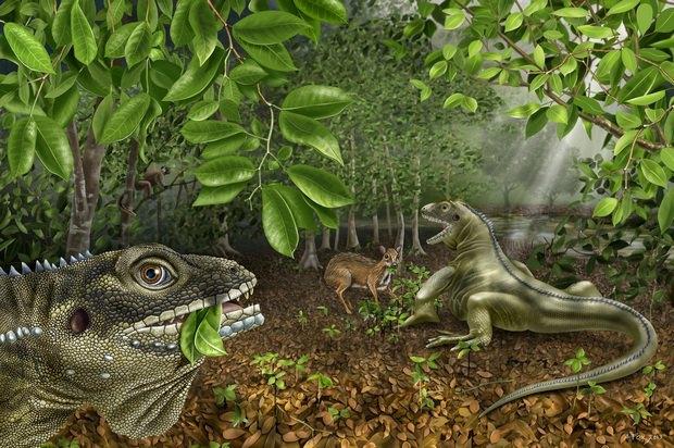 Гигантская доисторическая ящерица названа в честь Джима Моррисона. Изображение № 2.