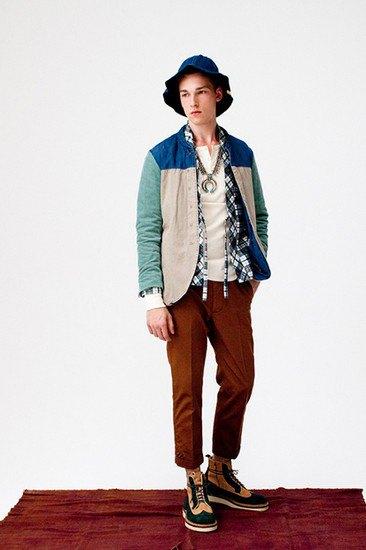 Японская марка Visvim опубликовала лукбук весенней коллекции одежды. Изображение № 7.