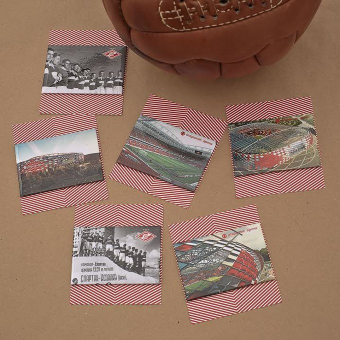 Heart of Moscow создали коллекцию к открытию стадиона «Спартак». Изображение № 3.