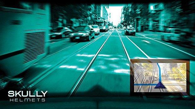 Компания Skully изобрела мотошлем с цифровым интерфейсом. Изображение № 2.