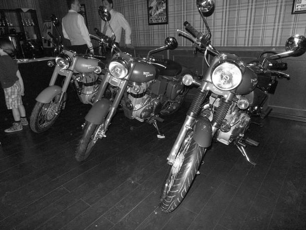 В Москве официально открылся салон мотоциклов Royal Enfield. Изображение № 3.