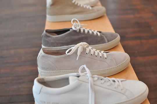 Превью новой коллекции обуви марки Common Projects. Изображение № 1.