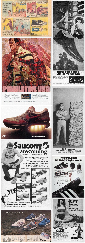 Назад в будущее: Винтажные рекламные плакаты современных марок одежды. Изображение № 1.