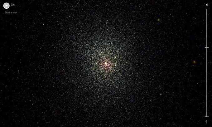 Google создали интерактивную карту Млечного Пути. Изображение № 2.