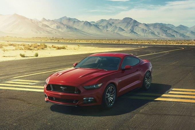 Ford представил новый Mustang шестого поколения. Изображение № 1.