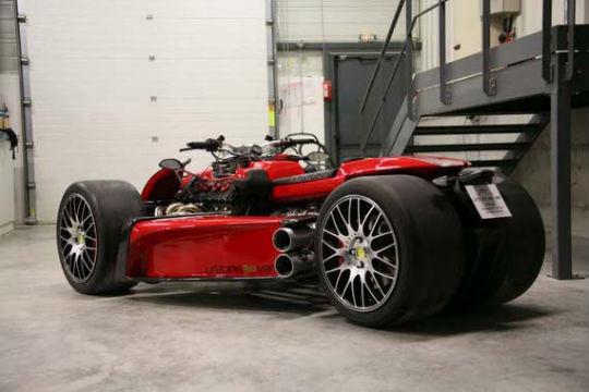 Квадроцикл с мотором Ferrari компании Ludovic Lazareth. Изображение № 11.