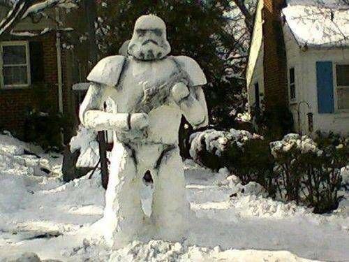 Что ты лепишь: Альтернативные снеговики со всего мира. Изображение № 18.