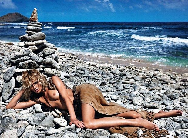 Модели Аня Рубик и Андреа Дьякони снялись обнаженными у фотографа Марио Сорренти. Изображение № 8.