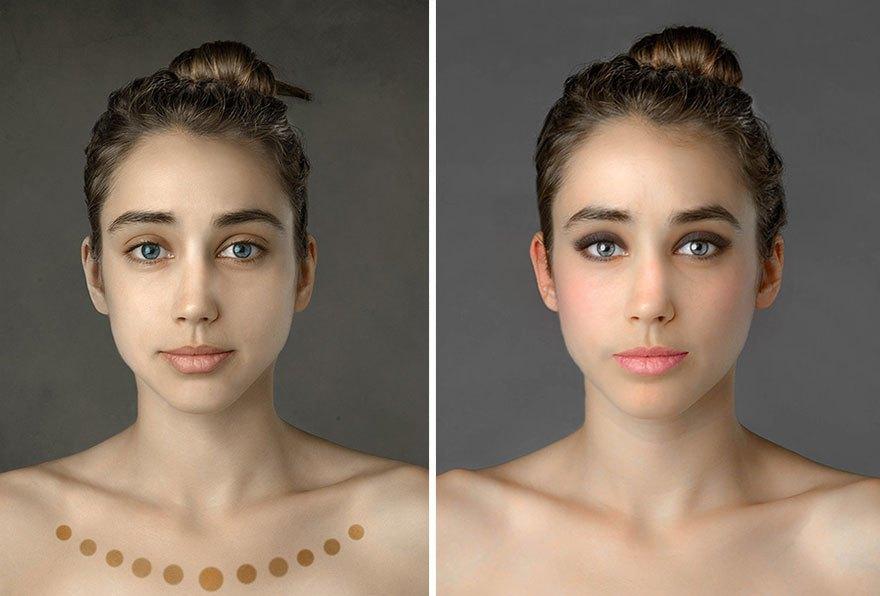 Как отличаются стандарты женской красоты в разных странах . Изображение № 17.