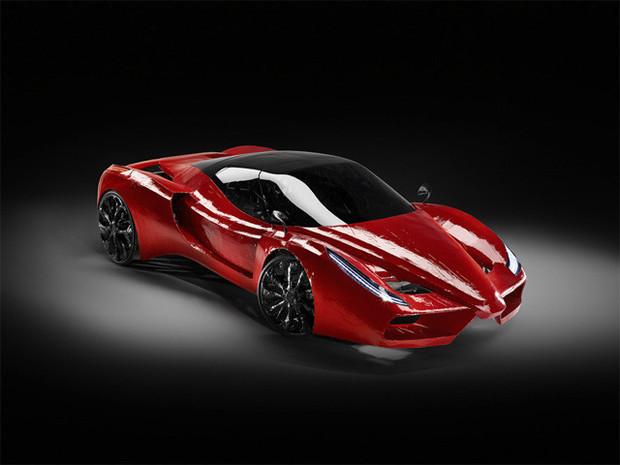 В Австрии сделали самый медленный в мире Ferrari. Изображение №7.