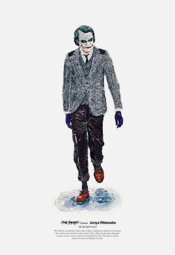 Художник Джон Ву продолжил серию модных иллюстраций с героями кино. Изображение № 2.