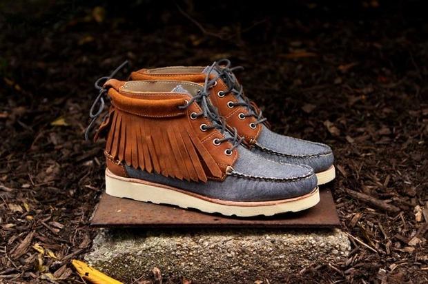 Дизайнер Ронни Фиг и марка Sebago выпустили капсульную коллекцию обуви. Изображение № 9.