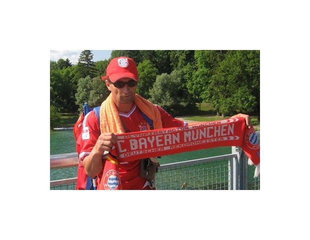 Болельщик «Баварии» прошел 960 километров пешком до стадиона. Изображение № 4.