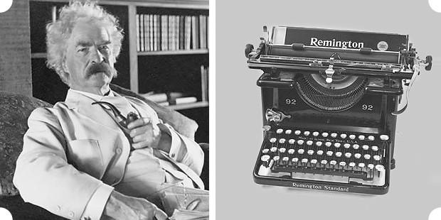 Марк Твен и «Remington №1» — первая печатная машинка, выпущенная большим тиражом. Изображение № 3.