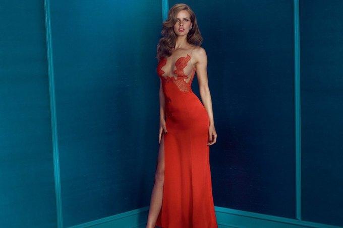 Модели Марлин Хоэк и Синди Бруна снялись в новой рекламе Agent Provocateur. Изображение № 8.