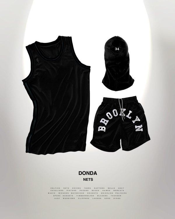 Канадский дизайнер представил, как бы выглядела форма NBA в исполнении культовых брендов. Изображение № 9.