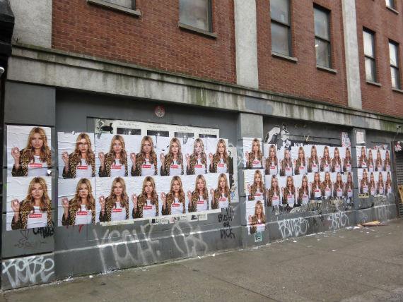 Кейт Мосс снялась в рекламной кампании Supreme. Изображение № 1.
