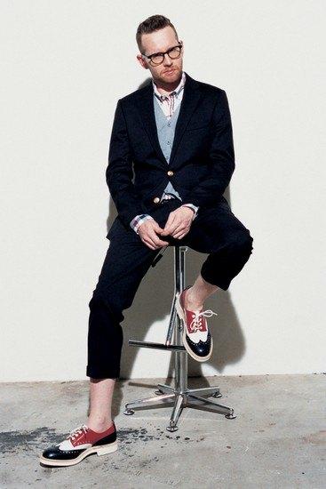 Марка Sophnet опубликовала лукбук весенней коллекции одежды. Изображение № 14.