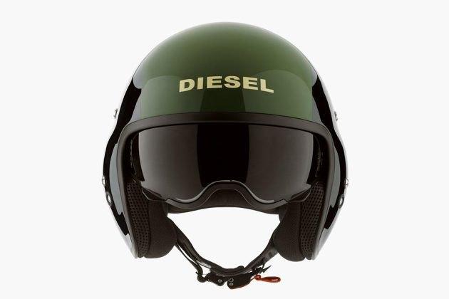 Марка Diesel представила коллекцию мотошлемов. Изображение № 3.