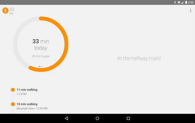 Google выпустил собственное фитнес-приложение. Изображение № 2.