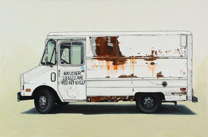 Кевин Сир: Граффити на фургонах как символ города. Изображение № 19.